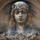 La déesse de la statue antique d'Aphrodite d'amour (Vénus) photographie stock