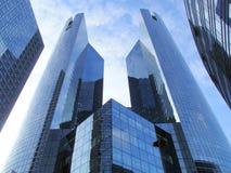 La Défense - Paris. La Défense - modern buildings in Paris Stock Photos