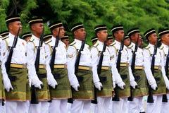 La défense royale de la Malaisie Images stock