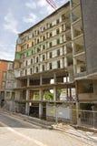 La démolition d'une construction Photographie stock