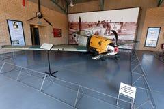 la 2da guerra mundial estrelló Messerschmitt 109 Imagen de archivo libre de regalías