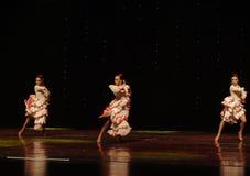La dame de la danse du monde de l'Autriche Camélia-espagnole de flamenco-le Photo stock