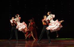 La dame de la danse du monde de l'Autriche Camélia-espagnole de flamenco-le Photographie stock libre de droits