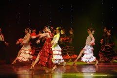 La dame de la danse du monde de l'Autriche de camélias-le Image stock