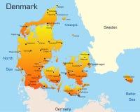 La Danimarca Fotografia Stock Libera da Diritti