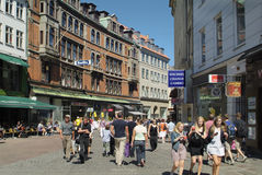 La Danimarca, Copenhaghen immagine stock libera da diritti