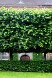 La Danimarca: Giardino reale Slotsholmen delle biblioteche Immagini Stock Libere da Diritti