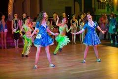 La danse artistique attribue 2014-2015 Photo libre de droits