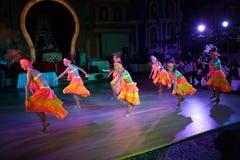 La danse artistique attribue 2014-2015 Images libres de droits
