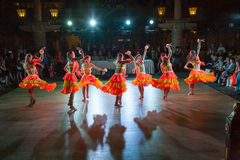 La danse artistique attribue 2014-2015 Images stock