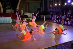 La danse artistique attribue 2014-2015 Photos libres de droits