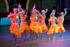 La danse artistique attribue 2014-2015 Photographie stock