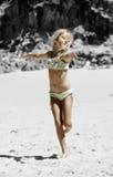 La danse comme personne observe Photo stock
