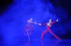 La danse du monde de l'Autriche esprit-espagnole de flamenco-le de chevalier Images stock
