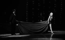 La danse du monde de l'Autriche isolée de danseur-le Photographie stock