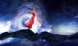 La danse est sa passion photos libres de droits