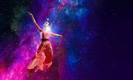 La danse est sa passion photos stock