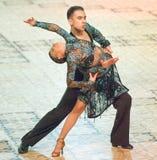La danse internationale de concours maîtrise 2010 Photo libre de droits