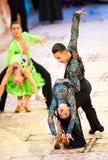 La danse internationale de concours maîtrise 2010 Photos stock