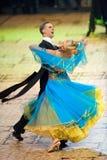 La danse internationale de concours maîtrise 2010 Image libre de droits