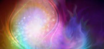 La danza creativa de la energía ilustración del vector