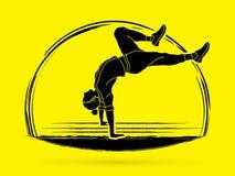 La danza de la calle, muchachos de B baila, Hip Hop libre illustration