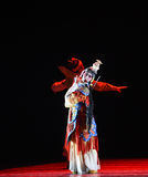 """La danza de espada - baile el  de Lanfang†del drama""""Mei Imágenes de archivo libres de regalías"""