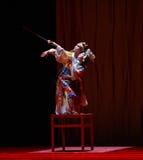 """La danza de espada - baile el  de Lanfang†del drama""""Mei Imagenes de archivo"""