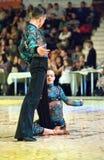 La danza internacional de la competencia domina 2010 Fotografía de archivo