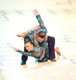 La danza internacional de la competencia domina 2010 Imagen de archivo libre de regalías