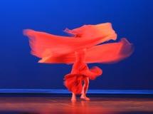 La danza moderna del chino Foto de archivo