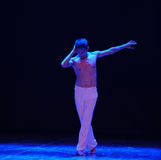 La danza pensador-Grito-moderna Foto de archivo