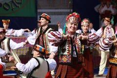 La danza ucraniana Fotos de archivo libres de regalías