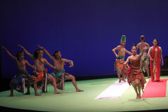 La danza una historia de amor Fotos de archivo libres de regalías