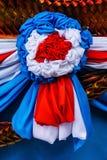 La décoration extérieure de tissu Photo stock
