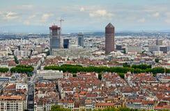 La-de bouw van Deeldieu, Lyon, Frankrijk Royalty-vrije Stock Afbeelding