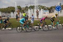 La de ciclo español Vuelta del viaje Imágenes de archivo libres de regalías