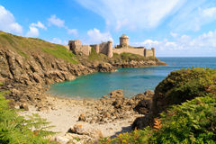 La de fort Latte - Brittany, France Images stock