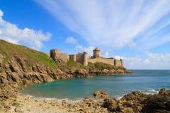 La de fort Latte - Brittany, France Photo stock
