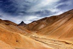 La de Namika, passage de montagne de Ladakh, Jammu-et-Cachemire, Inde Photographie stock