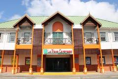 La-de Wandelgalerij van Plaatscarenage in Castries, St Lucia stock afbeeldingen