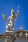 La dea di saggezza Fotografia Stock