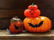 La decoración de la composición para Halloween Imagen de archivo