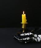 La decoración de la composición para Halloween Fotografía de archivo libre de regalías