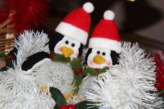 La decoración de la Navidad para las postales o las etiquetas casa cristmas Foto de archivo