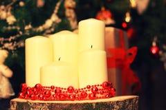 La decoración de la vela entonó la bola Imagenes de archivo