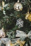 La decoración del árbol de navidad juega 4586 Fotos de archivo libres de regalías