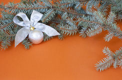 La decoración del Año Nuevo Fotografía de archivo libre de regalías