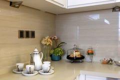 La decoración en la cocina Imagen de archivo libre de regalías