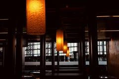 La decoración interior hermosa enciende la foto única Fotos de archivo libres de regalías